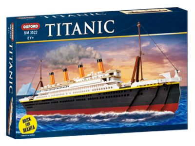 Image of Oxford - Brick for Mania - The Titanic