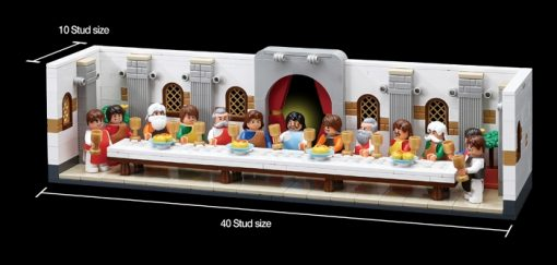 Image of Oxford - Brick for Mania - The Last Supper