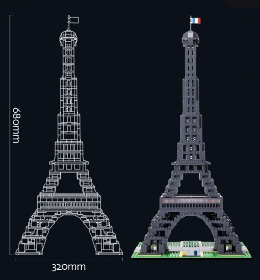 Image of Brick for Mania Eiffel Tower