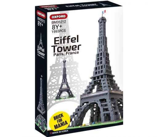 Image of Oxford - Brick for Mania - Eiffel-Tower
