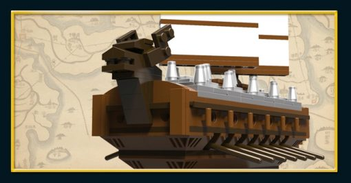 Image of Brick for Mania Turtle Ship