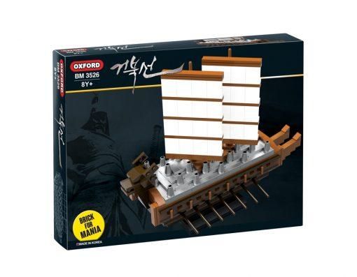 Oxford Toys – Brick for Mania – Turtle Ship
