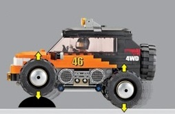 Image of Oxford - 4 X 4 Monster Truck - 46