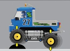 Image of Oxford - 4 X 4 Monster Truck 27