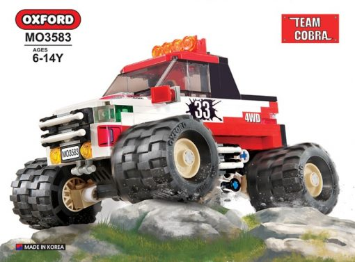 Image of Oxford - 4 X 4 Monster Truck -33