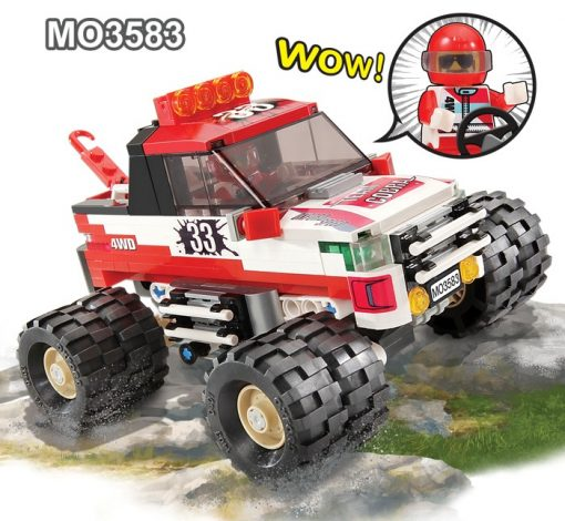 Image of Oxford - 4 X 4 Monster Truck 33