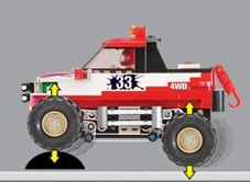 Image of Oxford - 4 X 4 Monster Truck - 33