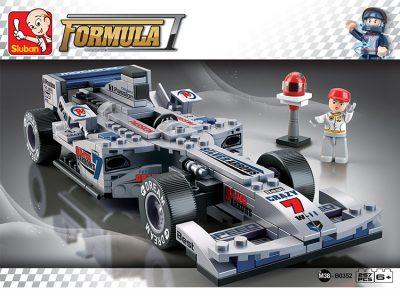 Image of Sluban Formula 1 – Silver Arrows Racing Car