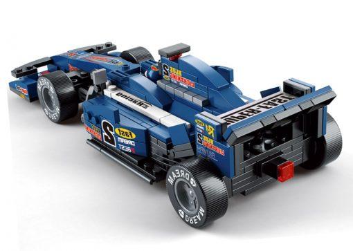 Image of Sluban Formula 1 – Blue Lightning Racing Car