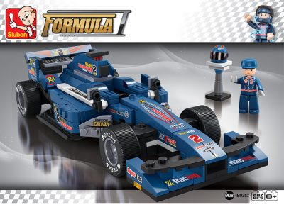 Image of Sluban Formula 1 – Blue Lightning Racing Car