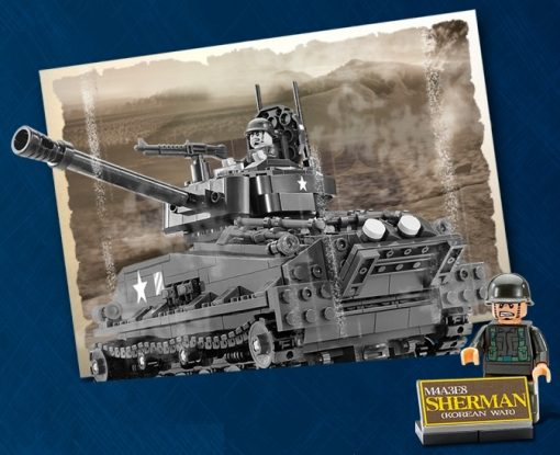Image of Brick for Mania Sherman Tank