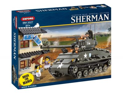 Image of Oxford - Brick for Mania - Sherman-Tank