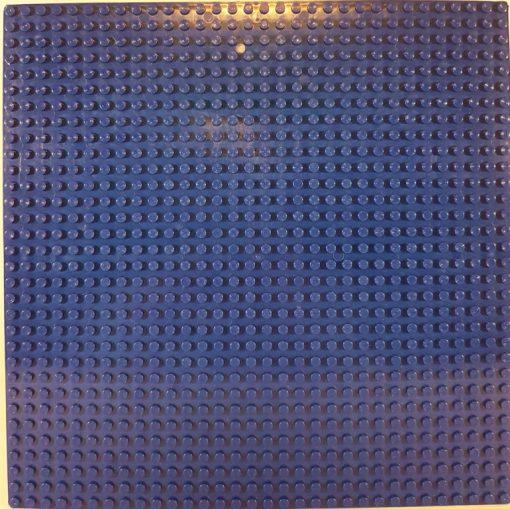 Image of 1kg Bricks & Pieces – Blue baseplate