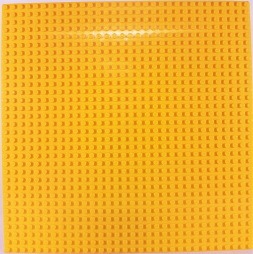 Image of 1kg Bricks & Pieces – Yellow baseplate