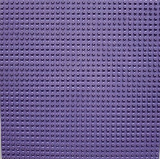 Image of 1kg Bricks & Pieces – Purple baseplate
