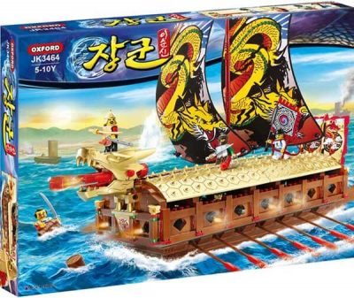 Box set Admiral battle Turtle Ship