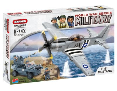 Image of Oxford - Military World War - P51-Mustang