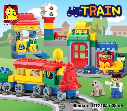 Image of Oxford Toddler - Train Set