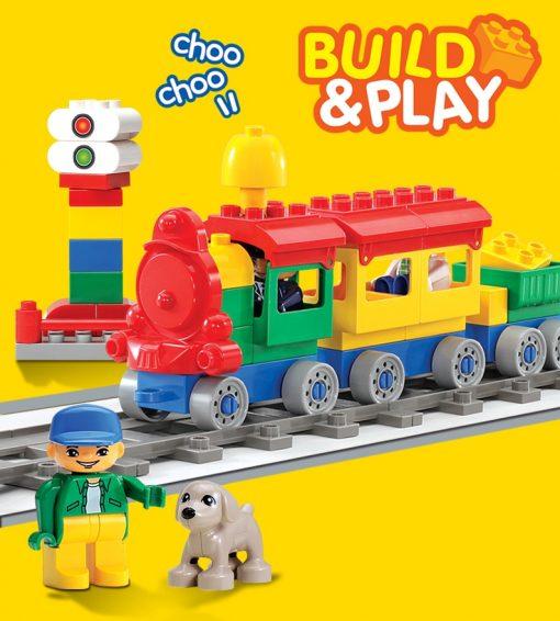 Oxford Toys – Toddler Blocks – Train Set