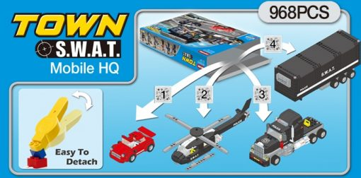 Oxford Toys - Town S.W.A.T – Mobile H.Q