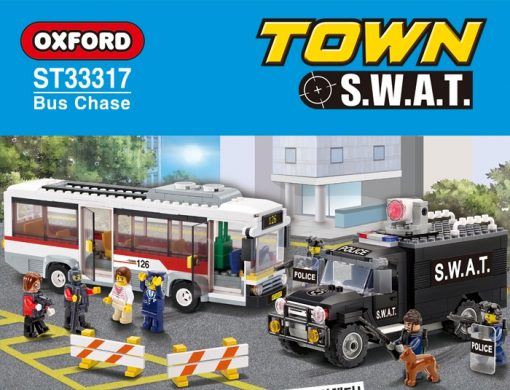 Image of Oxford - Town S.W.A.T – Bus Chase