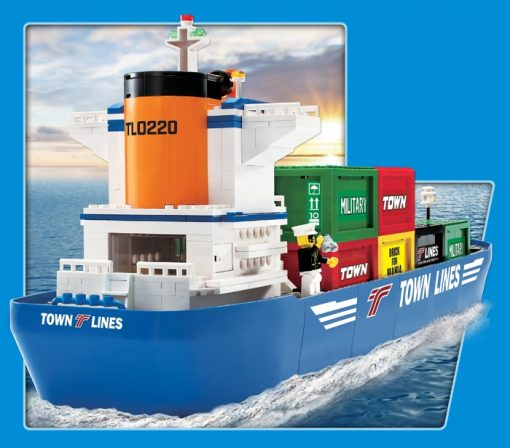 Image of TOWN – Container Ship