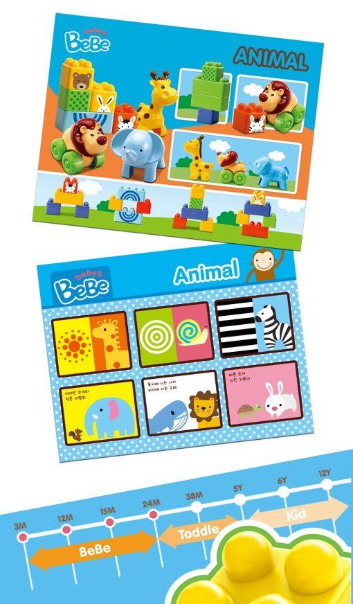 Image of BEBE Animal Block Set