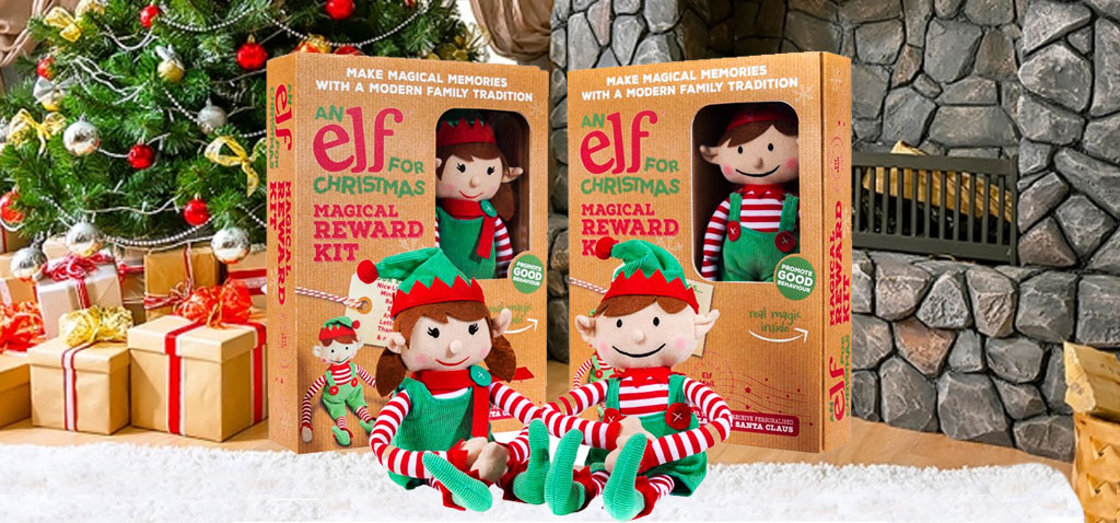 "Award Winning ""Elf For Christmas"" lets kids send their letters to the North Pole!"