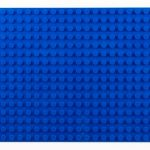 Image of a 16 X 32 Stackable Baseplate in Blue
