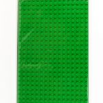 Image of a 16 X 32 Stackable Baseplate in Green