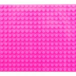 Image of a 16 X 32 Stackable Baseplate in Pink