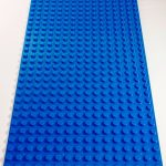 Image of a Blue 16 x 32 studs Block Baseplate