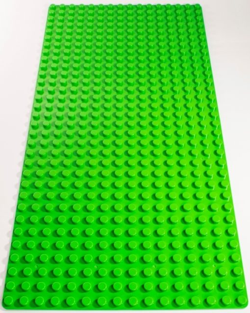 Image of a Green 16 x 32 studs Block Baseplate