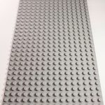 Image of a Grey 16 x 32 studs Block Baseplate