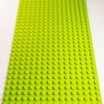 Image of a Lime Green 16 x 32 studs Block Baseplate
