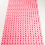 Image of a Pink 16 x 32 studs Block Baseplate