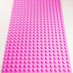Image of a Purple 16 x 32 studs Block Baseplate