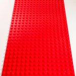 Image of a Red 16 x 32 studs Block Baseplate