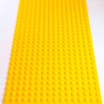 Image of a Yellow 16 x 32 studs Block Baseplate
