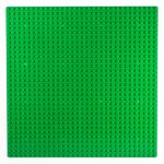 Image of a 32 x 32 Flat Baseplate in Green