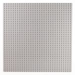 Image of a 32 x 32 Flat Baseplate in Grey