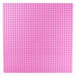 Image of a 32 x 32 Flat Baseplate in Pink