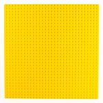 Image of a 32 x 32 Flat Baseplate in Yellow
