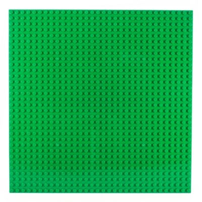 Image of a 32 x 32 Stackable Baseplate in Gren