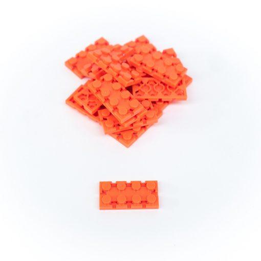 Image of Orange Flexo Bricks - 2x4 Size