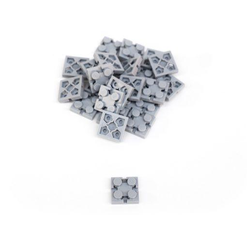 Image of Grey Flexo Bricks - 2x2 Size