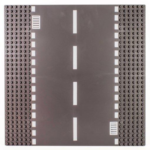 Image of a Straight Road - Road Baseplate