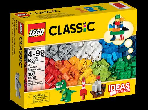 Image of LEGO- Classic- Blue Creativity Box