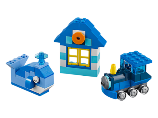 Image of LEGO- Classic- Blue Creativity Box