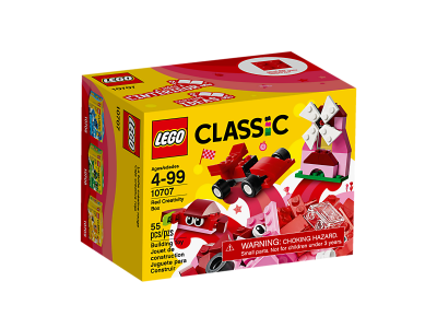 Image of LEGO- Classic- Red Creativity Box